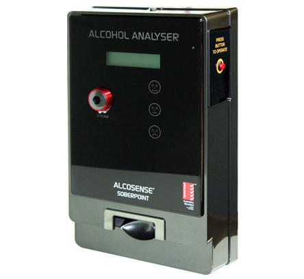 Al4000 Button Operated Andatech Breathalyser Fuel Cell
