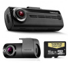 NEW Thinkware F200K 1080P HD Dash Cam & Rear Camera - 16GB